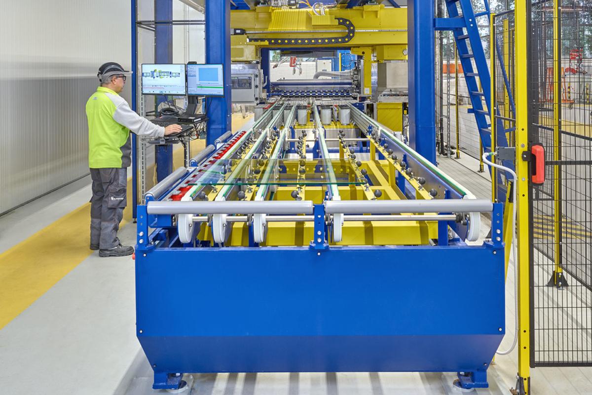 ESG Produktion Sicherheit Glas auf Maß bestellen