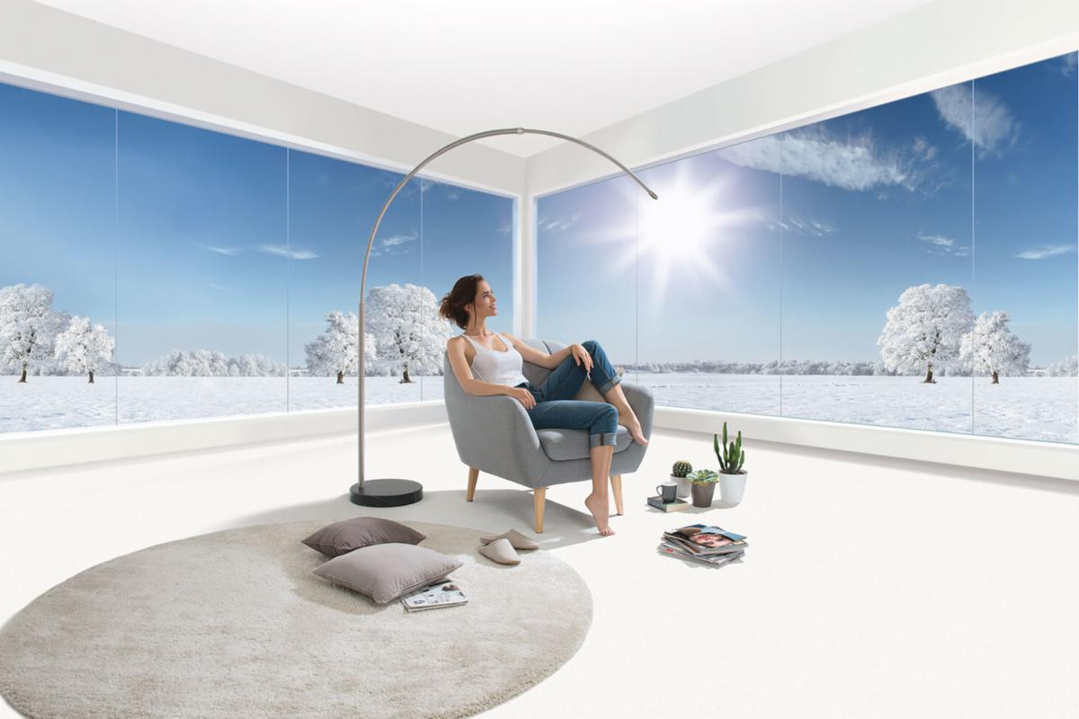 Isolierglas mit Wärmeschutz