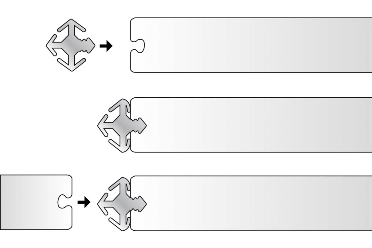 Trennwandsystem